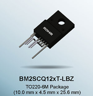 BM2SCQ12xT-LBZ series Industry's First AC/DC Converter ICs with Built-In 1700V SiC MOSFET