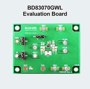 BD83070GWL Evaluation Board