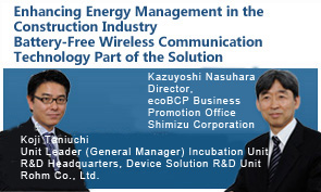Enhancing Energy Management in the Construction Industry Battery-Free Wireless Communication Technology Part of the Solution