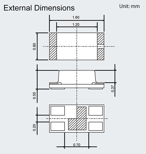 External Dimensions