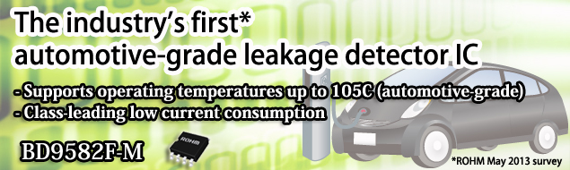 Leakage Detection IC for Automotive BD9582F-M