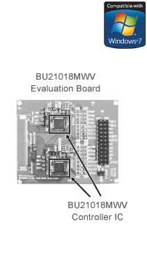BU21018MWV Evaluation Board / BU21018MWV Controller IC