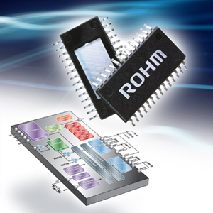 ROHM Microstep Motor Drivers Deliver High Performance and Reliability