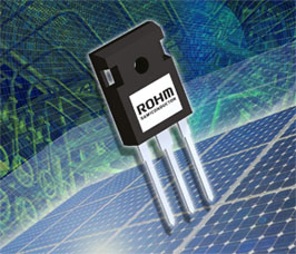 SiC Power MOSFET with internal SiC SBD reduces power loss in inverters