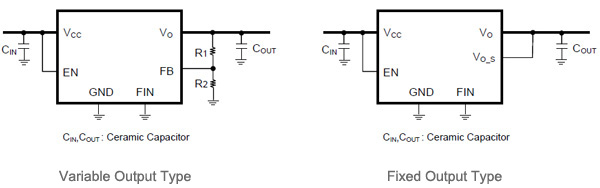 Application Circuit Diagrams